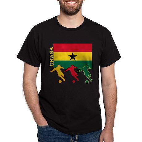 Ghana Soccer Dark T-Shirt
