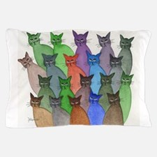New England Stray Cats Pillow Case