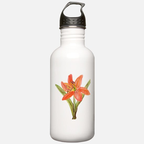 Tiger Lily Sports Water Bottle