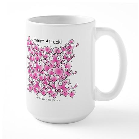 Heart Attack Mug (Large)