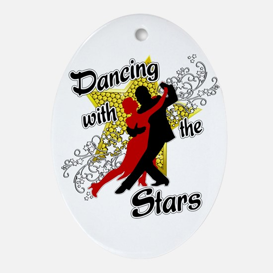 Dancing With The Stars Ornament (Oval)