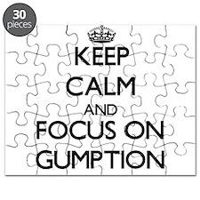 Cool Gumption Puzzle