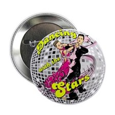 """Dancing With The Stars 2.25"""" Button"""