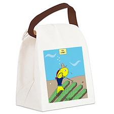 Fish Farmer Canvas Lunch Bag