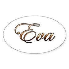 Gold Eva Decal