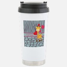 Custom Giraffe, Zebra A Travel Mug