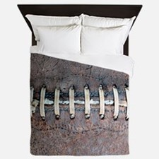 Funny Brown leather Queen Duvet