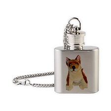 dingo Flask Necklace