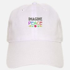 Imagine Peace Baseball Baseball Baseball Cap