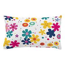 Cute A smiley face girl Pillow Case