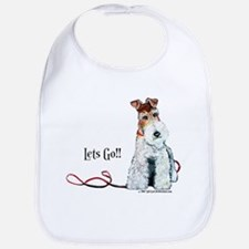 Fox Terrier Walk Bib