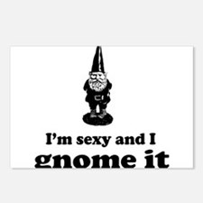 I'm sexy and I gnome Postcards (Package of 8)