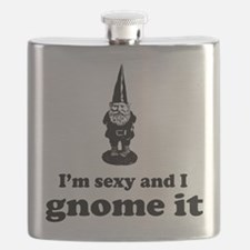 I'm sexy and I gnome Flask
