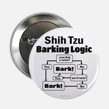 "Shih Tzu Logic 2.25"" Button"