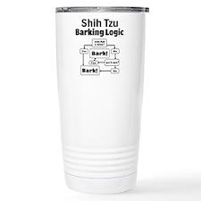 Shih Tzu Logic Travel Mug