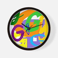 Initial Design (G) Wall Clock