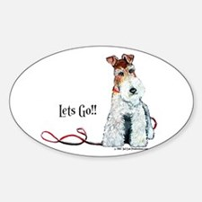 Fox Terrier Walk Decal