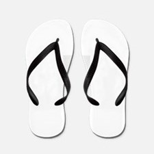 Cool Hipster teen Flip Flops