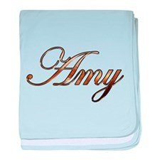 Cute Amy baby blanket