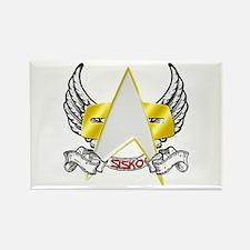 Star Trek Sisko Tattoo Rectangle Magnet