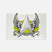 Star Trek Crusher Tattoo Rectangle Magnet