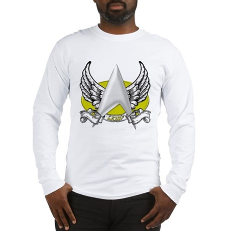 Star Trek Worf Tattoo Long Sleeve T-Shirt