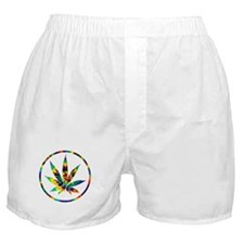 Funny Weeds Boxer Shorts