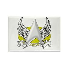 Star Trek Data Tattoo Rectangle Magnet