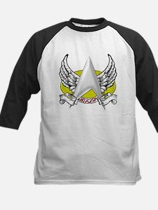 Star Trek Riker Tattoo Kids Baseball Jersey