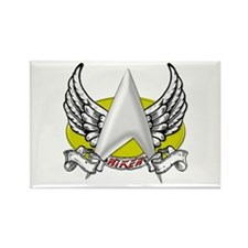 Star Trek Riker Tattoo Rectangle Magnet