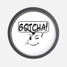 Funny Speech bubble Wall Clock