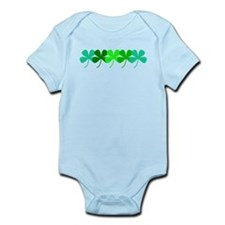 Irish Designer Baby Clothing Irish Leaf Clovers Designer