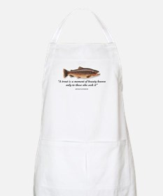 A trout is... BBQ Apron