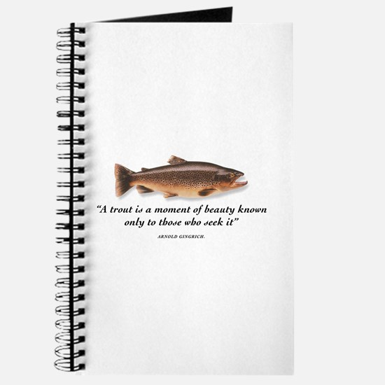 A trout is... Journal