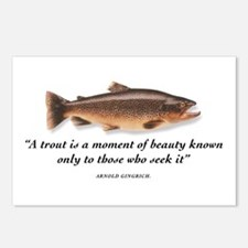A trout is... Postcards (Package of 8)