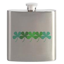 Unique Four leaf clover Flask