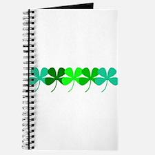 Cute Four leaf clover Journal
