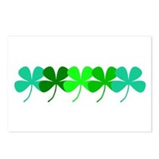 Cute St patricks day women Postcards (Package of 8)