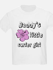 Daddys Little Surfer Girl T-Shirt