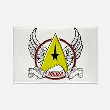 Star Trek Uhura Tattoo Rectangle Magnet