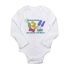 Unique Microbiologist Long Sleeve Infant Bodysuit