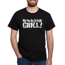 UpInMyGrillBlack T-Shirt