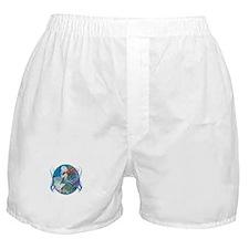 Cool Fish art Boxer Shorts