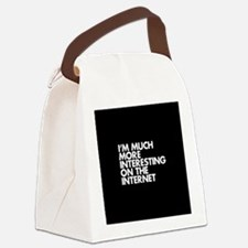 Cool Funny inspirational Canvas Lunch Bag