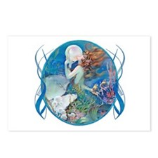 Cute Mermaid fantasy Postcards (Package of 8)