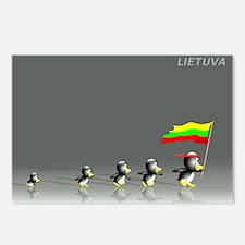 Cute Lietuva Postcards (Package of 8)