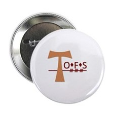 "OFS Secular Franciscan Order 2.25"" Button"