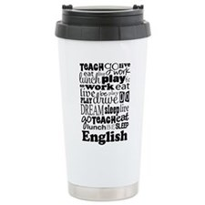 English Teacher quote Travel Mug