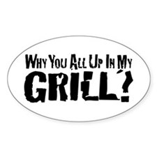 Grill/Tailgate Decal