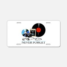 never-4 Aluminum License Plate